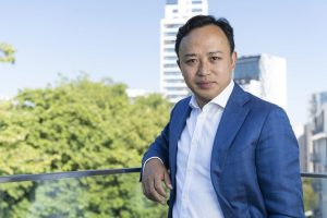 Huawei's Chief Representative to the EU Institutions Abraham Liu