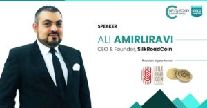 Ali Amirliravi, the CEO of LGR Global of Switzerland and founder of Silk Road Coin